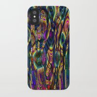wild things iPhone & iPod Cases featuring Wild Things by RingWaveArt