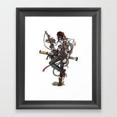Wastelnader. Framed Art Print