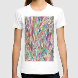 Abstract painting color texture 2 T-shirt