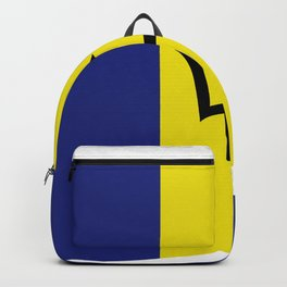 barbados flag Backpack