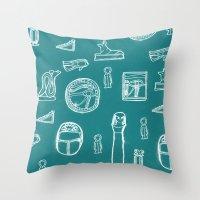 egypt Throw Pillows featuring Egypt by estellesmorris