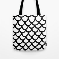 scales Tote Bags featuring Scales by Geryes