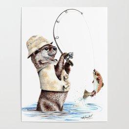 Natures Fisherman Poster