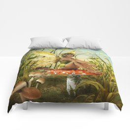 Indian Summer Fairy Comforters