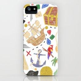 ispy Treasure Island iPhone Case