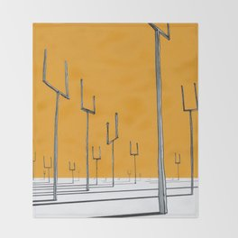 origin of symmetry Throw Blanket