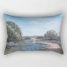 Texas Hill Country Rectangular Pillow