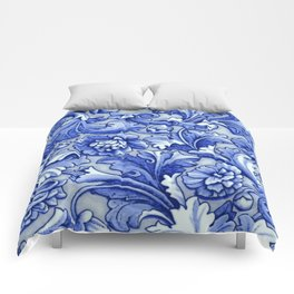 Blue and White Porcelain Comforters