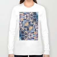 community Long Sleeve T-shirts featuring Community of Cubicles by Phil Perkins