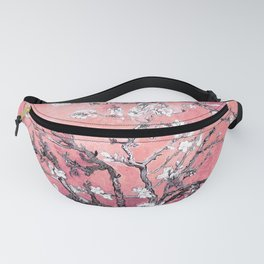 Van Gogh Almond Blossoms : Peachy Pink Fanny Pack