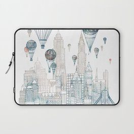Voyages Over New York ~Refresh Laptop Sleeve