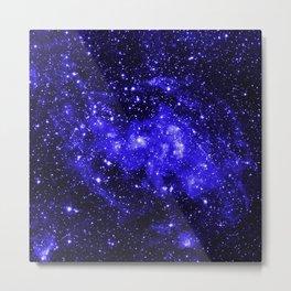 Chandra #1 Blue Metal Print