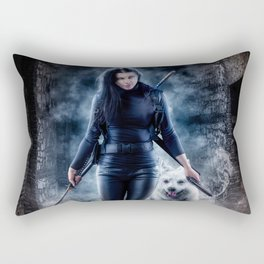 Never Forsaken Rectangular Pillow