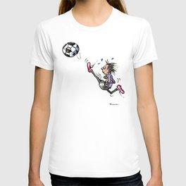 Little Soccer Girl T-shirt