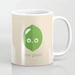 Lime Yours Coffee Mug