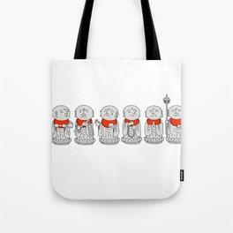 Line of Jizo Tote Bag