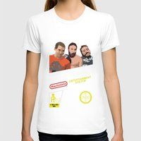inside gaming T-shirts featuring 8 Bit Inside Gaming by Jin Smoth