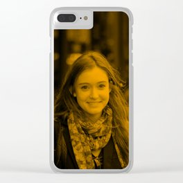 Hayley McFarland - Celebrity Clear iPhone Case