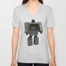 Wrist Watch Robot Unisex V-Neck