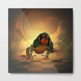 Awesome frogdog Metal Print