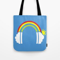 Rainbowphones Tote Bag