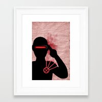 cyclops Framed Art Prints featuring Cyclops by Sprite