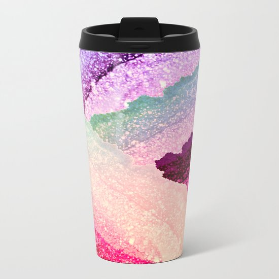 FLAWLESS UNICORN RAINBOW Metal Travel Mug