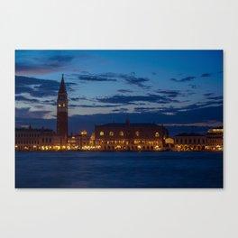 Venice: Blue Hour Canvas Print