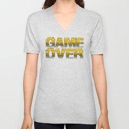 Game Over Unisex V-Neck