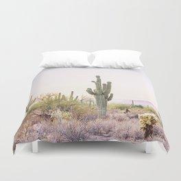 Cactus In The Desert Duvet Cover