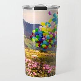 When Balloon Bloom Travel Mug