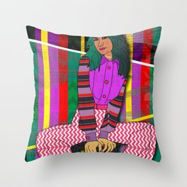 I'm Ready To Party! Throw Pillow