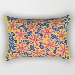bungong jeumpa series: brightyellow Rectangular Pillow