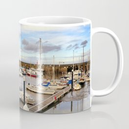Watchet Marina Somerset England Coffee Mug