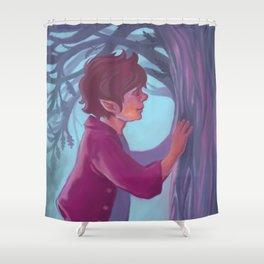 Faded, But Not Forgotten Shower Curtain