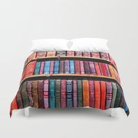 books Duvet Covers featuring books by Baptiste Riethmann