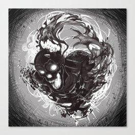 Dark Death Canvas Print