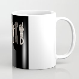 Be Kind Sign Language Multicultural Gift Coffee Mug