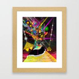 Kemetic Energy Framed Art Print