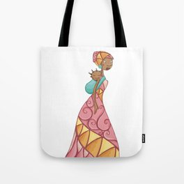 African beauty pink. Tote Bag