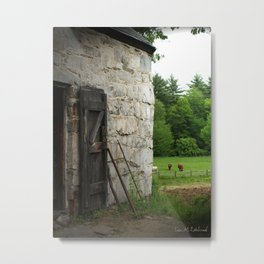 Stone Farm Metal Print