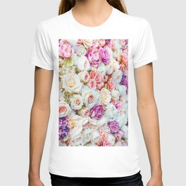 Colorful Roses T-shirt