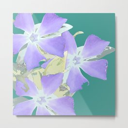 Flower abstract Metal Print