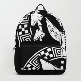 trippy chiwawa witchy cute dog Backpack
