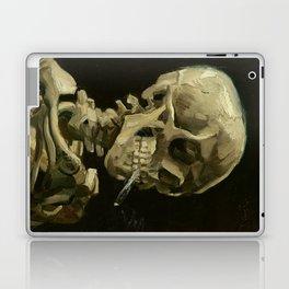 Vincent van Gogh - Skull of a Skeleton with Burning Cigarette Laptop & iPad Skin