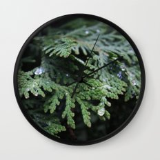 Evergreen 2 Wall Clock
