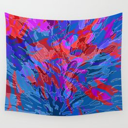 exploding coral Wall Tapestry