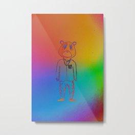 COLOR YE BEAR Metal Print