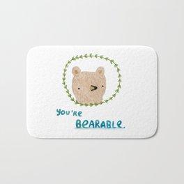 Bearable Bear Bath Mat