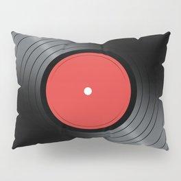 Music Record Pillow Sham